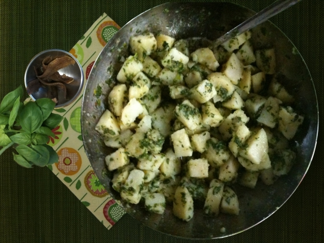 Potato and Anchovy Salad Recipe
