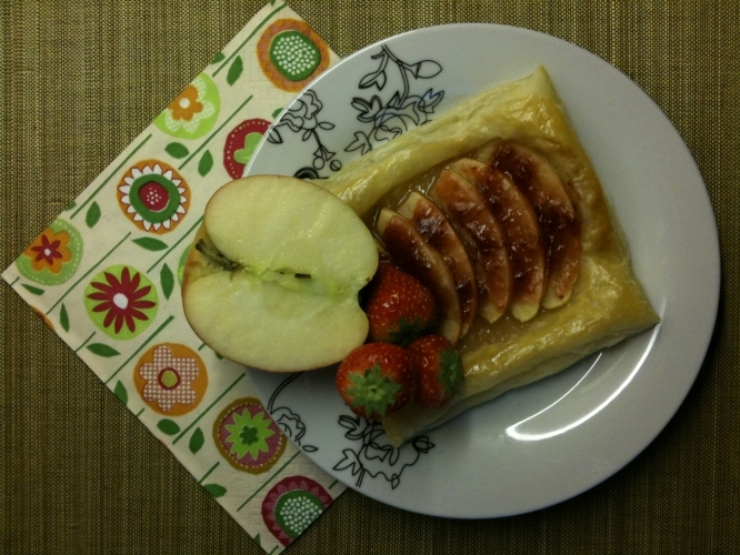 Puff Pastry Apple Tarts with Jam Recipe