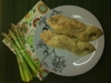 Asparagus in Puff Pastry with Ham
