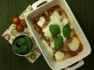 Mozzarella, Tomato and Gnocchi Bake