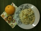 Orange Risotto with Chives