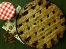 Spiced Almond and Strawberry Jam Tart