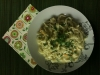 Tagliatelle with Orange and Parsley