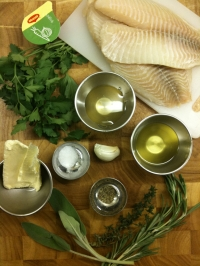 Ingredients for Fillet of Cod with Honey and Herbs